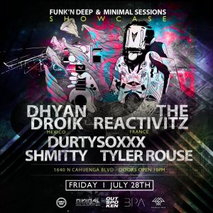 Dhyan Droik & The Reactivitz at Minimal Sessions