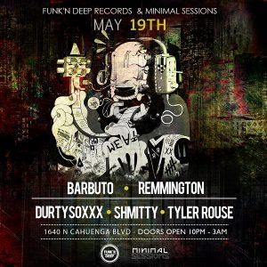 Barbuto, Remmington, Durtysoxxx at Minimal Sessions