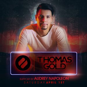 Thomas Gold and Audrey Napolean at Create Nightclub   April 1, 2017