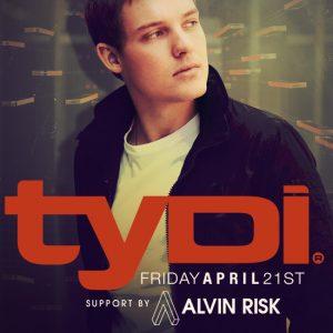 Tydi with Alvin Risk at Create Nightclub