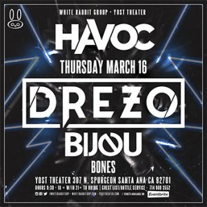 Drezo at Yost | March 16, 2017