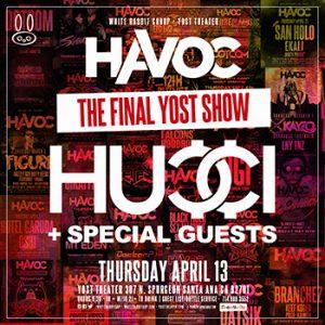 Hucci at Yost | April 13, 2017