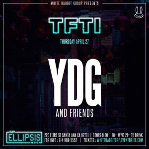 YDG at Bar Ellipsis | April 27, 2017