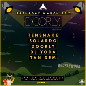 Doorly at Avalon Hollywood | March 18, 2017