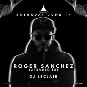 Roger Sanchez at Avalon | June 17, 2017