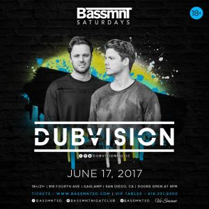 Dubvision on Bassmnt | June 17, 2017