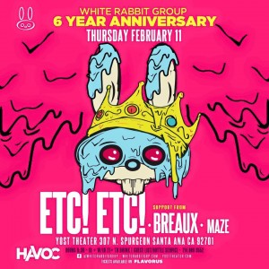 etc. etc new flyer