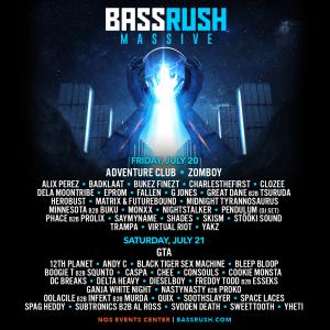 Bassrush Massive 2018 Lineup