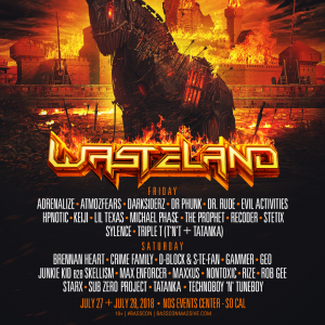 Wasteland 2018 Lineup