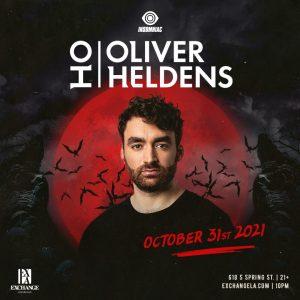Oliver Heldens at Exchange LA - October 31 2021