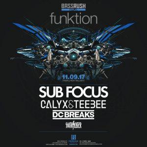 Sub Focus, Calyx & Teebee, DC Breaks at Exchange LA