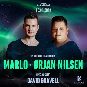 Marlo, Orjan Nilsen, David Gravell at Exchange LA