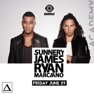Sunnery James & Ryan Marciano at Academy LA
