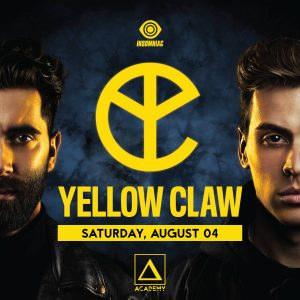 Yellow Claw at Academy LA