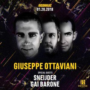 Giuseppe Ottaviani + Sneijder + Gai Barone at Exchange LA