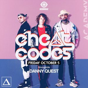 Cheat Codes at Academy LA