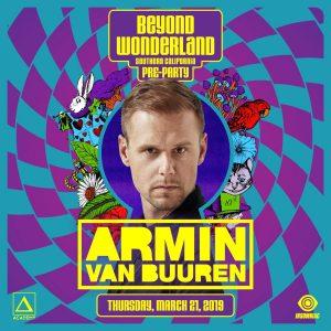 Armin Van Buuren at Academy LA