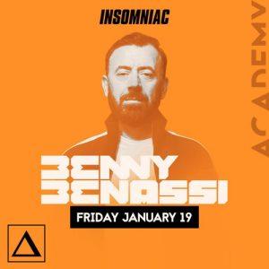 Benny Benassi at Academy LA