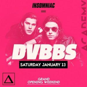 DVBBS at Academy LA