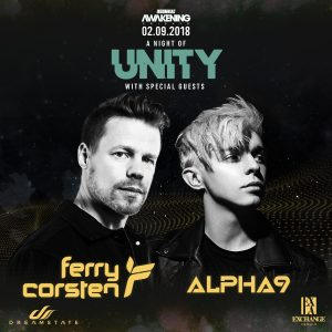 Ferry Corsten & Alpha 9 at Exchange LA