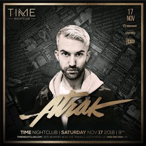 A-trak at Time - Nov 17, 2018