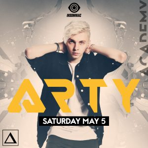 Arty at Academy LA