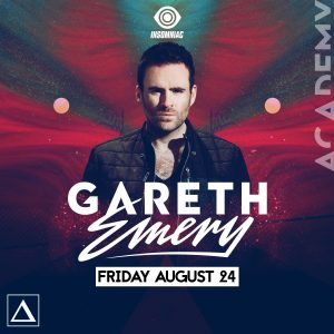 Gareth Emery at Academy LA
