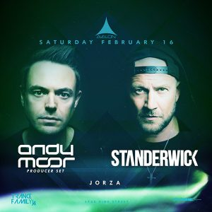 Andy Moor, Standerwick at Avalon - Feb 16, 2019