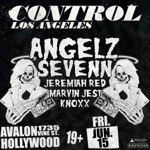 Angelz Sevenn at Avalon Hollywood - June 15, 018