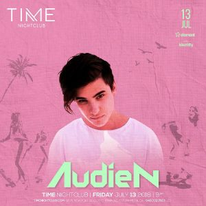 Audien at Time Nightclub - July 13, 2018