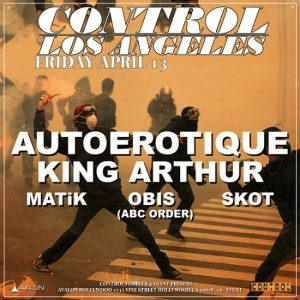 Autoerotique at Avalon Hollywood - April 13, 2018