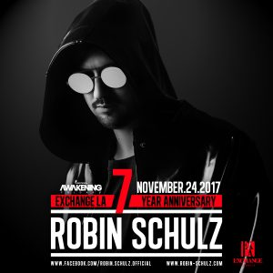 Robin Schulz at Exchange LA - Nov 24, 2017