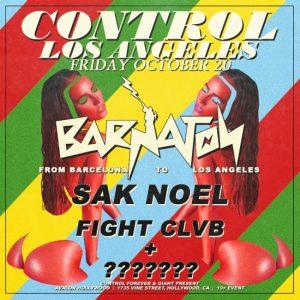 Barnaton Records Night Sak Noel, Fight Clvb at Avalon Hollywood