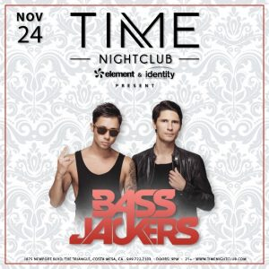 Bass Jackers at Time Nightclub