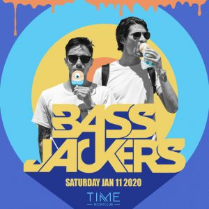 Bassjackers at Time - Jan 11