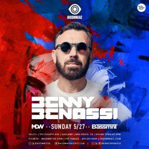 Benny Benassi at Bassmnt - May 27, 2018