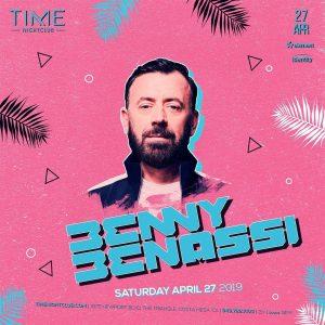 Benny Benassi at Time - Apr 27