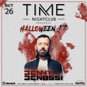 Benny Benassi at Time Nightclub