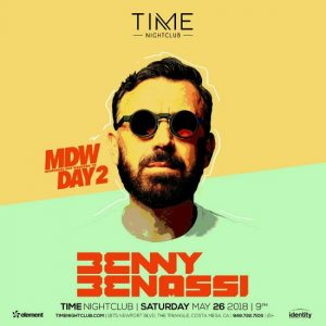 Benny Benassi at Time Nightclub - May 26, 2018