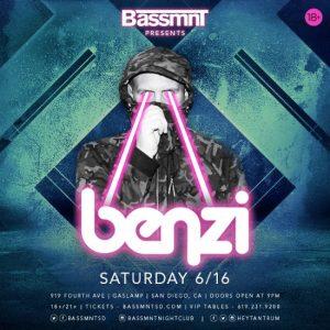 Benzi at Bassmnt - June 16, 2018