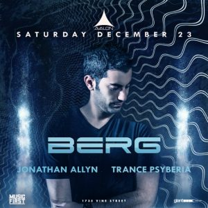 Berg at Avalon Hollywood