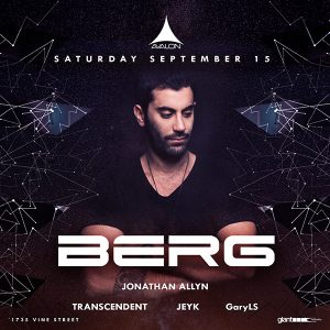 Berg at Avalon - September 15, 2018