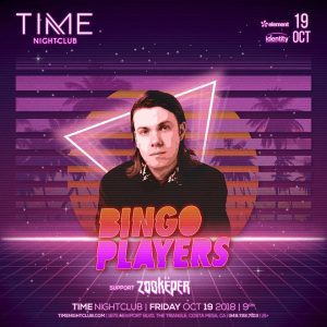 Bingo Players at Time - Oct 19, 2018