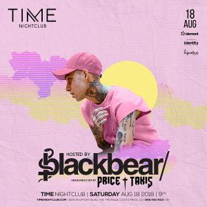 Blackbear at Time Nightclub - August 18, 2018