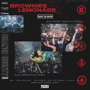 Brownies & Lemonade at Time Nightclub - May 10, 2018