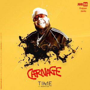 Carnage at Time on June 28, 2019