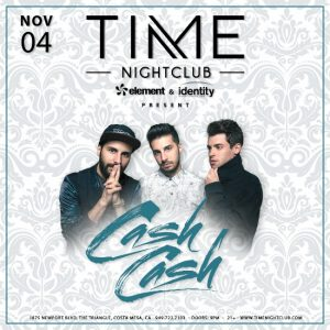 Cash Cash at Time Nightclub
