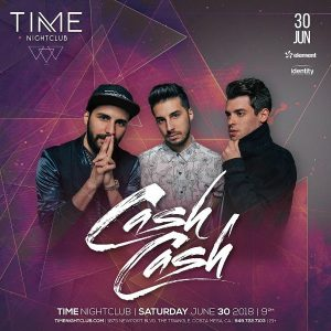 Cash Cash at Time Nightclub - June 30, 2018
