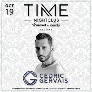 Cedric Gervais at Time Nightclub