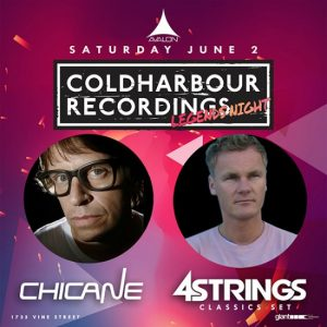 Chicane, 4Strings at Avalon Hollywood - June 2, 2018